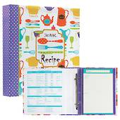 Collins Refillable Recipe Journal