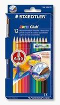 Noris Club Aquarell Colour Pencils, Brush Included, Pack of 12