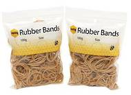 Marbig Rubber Bands 500g, Size 33, 89x3mm