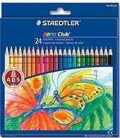 Noris Club Colour Pencils Full Length, Pack of 24