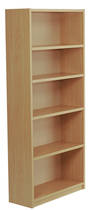 Bookcase, 800 x 800 x 300, 1 adjustable shelf,