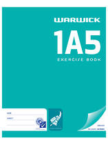 1A5 Exercise Book, Unruled, 80 Pages