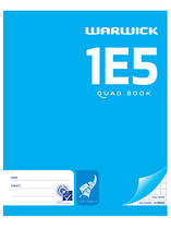 1E5 Maths Quad Exercise Book 7mm, 72 Pages