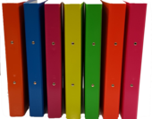 A4 2Ring Binders Summer Brights, Yellow