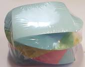 Twistee  Multi Coloured Memo Cubes, Pastel, 500 sheets