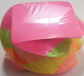 Twistee Multi Coloured Memo Cubes, Neon,500 sheets