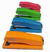 Eagle Office Stapler Half Strip Orange