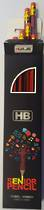 Standard HB Pencils with eraser tips, box12