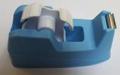 Neon Office Tape Dispenser Blue