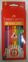 Faber Castell Junior Grip Pencils, Long, pack of 10