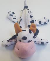 Soft Animal Pencil Case Cow