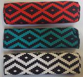 Best Buy Pencil case Tribal Beads Turquoise