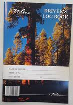 Treeline Drives log book limp cover