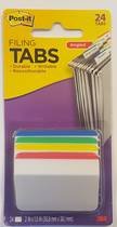 3M Post It Filing Tabs, 24Tabs