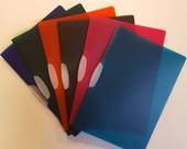 Swing Clip Files, Translucent Colours, Navy Blue
