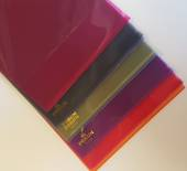 L Shaped Pockets, Pack Of 10, Assorted Colours