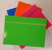 Summer Brights Box Files , Foolscap, Blue