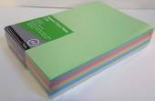 A4 Pastel Coloured  Office Paper, 80gsm, 500sheets, Assorted Pack