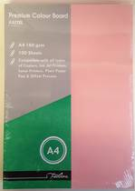 A4 Pastel Coloured Office Paper, 160gsm, 100sheets, Pink
