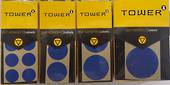 Tower Permanent Labels ,13mm, Blue ,400 Dots