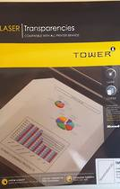 Tower Laser Transparency Film, Colour , A4 , 50sheets