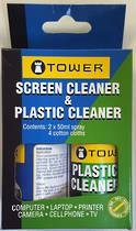 Tower Screen Cleaner and Plastic Cleaner set