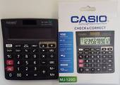 Casic Check and Correct Calculator MJ-120D-Black