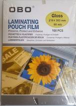 A4 Laminating Pouches, 2x 80mic, Gloss, Pack Of 100