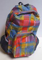 Funky convertable Back Pack Tartan