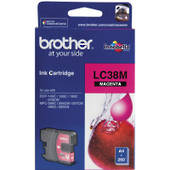 Brother LC38M Inkjet Cartridges, Magenta