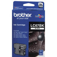 Brother LC67BK Inkjet Cartridges, Black
