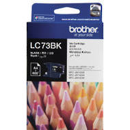 Brother LC73BK Inkjet Cartridges, Black