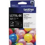 Brother LC77XL-BK Inkjet Cartridges, Black
