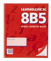8B5 Sprial Excercise Book 7mm Ruled, 100 Pages