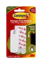 3M Command Adhesive Sawtooth Picture Hanger Hooks, 17040