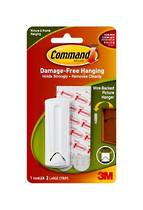 3M Command Adhesive Wirebacked Picture Hooks, 17041