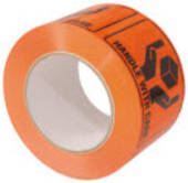 Label on Roll, Handle With Care, 75mmx100mm, 500 Labels