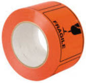 Label on Roll, 75mmx100mm, 500 Labels