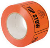Labels on Roll, Top Stow,  75mmx100mm, 500 Labels