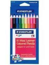 Noris Club Maxi Learner Colour Pencils, Pack of 10