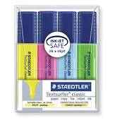 Staedtler Textsurfer Classic, Office Highlighters, Pack of 4