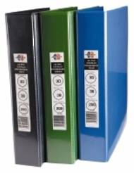 A4 Marbig Enviro Insert Binders, 3 Ring, 38mm, Blue