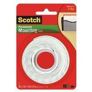 Scotch Heavy Duty Mounting Tape, 12.7mmx1.9m