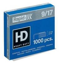 9/17 Heavy Duty Rapid Staples, Box Of 1000