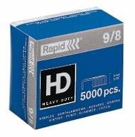 9/8 Heavy Duty Rapid Staples, Box of 5000