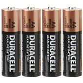 AA Duracell Batteries, Pack Of 4