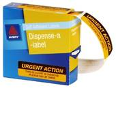 Avery Printed Message Labels, DMR1964R2, 19x64mm, 125 Labels, Urgent Action