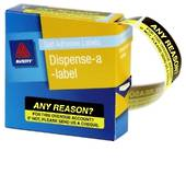 Avery Printed Message Labels, DMR1964R5, 19x64mm, 125 Labels, Any Reason