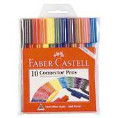 Faber Castell Connector Pens, pack10