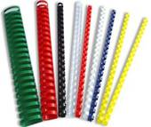 Plastic Binding Coils, 8mm, Red